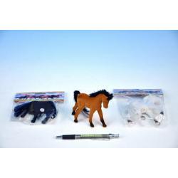 Kůň fliška 10cm asst 3 barvy v sáčku
