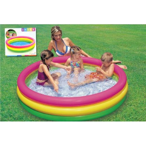 Bazén nafukovací dno 114x25cm v krabici