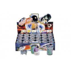 Sliz - hmota 80g Mars 6x5cm mix druhů 24ks v boxu