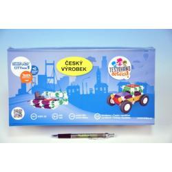 Stavebnice Seva City mini 1 plast 145ks v krabici 31x16x7,5cm