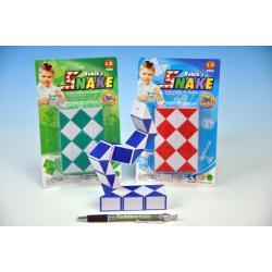 Hra had hlavolam plast na kartě asst 12x19x3cm