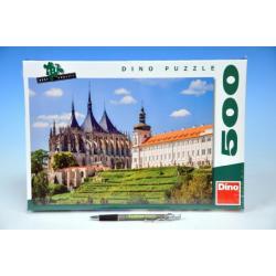 Puzzle Chrám sv. Barbory Kutná Hora 47x33cm 500 dílků v krabici