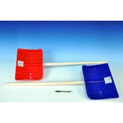 Lopata Hrablo 87cm dřevo/plast asst 2 barvy