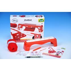 Pletací stůl Minnie + pletení v krabici 30x24x7cm