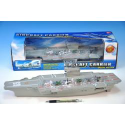Letadlová loď plast 47cm v krabici