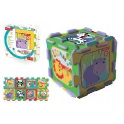 Pěnové puzzle Fisher Price 8ks 32x32x1cm v sáčku