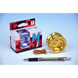 Jojo T8 - Magic shadow Magicyoyo 5,5x4cm hliník/kov s ložiskem asst 2 barvy v krabičce