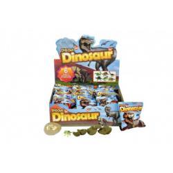 Dinosaurus vejce zkamenělina v sáčku 11x13cm asst 24ks v boxu