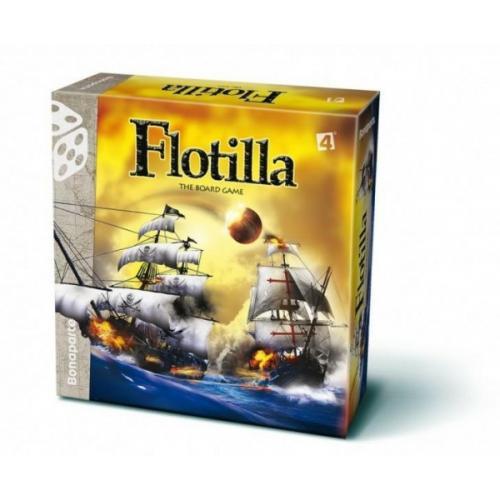Flotilla námořní bitva společenská hra lodě v krabici 30x30x9cm