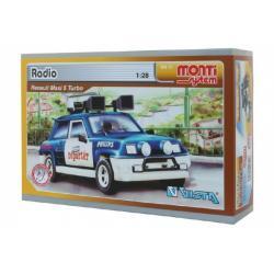 Stavebnice Monti System MS 13 Radio Renault 1:28 v krabici 22x15x6cm