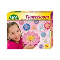 Pletací stav Květina plast v krabici 24x19x6cm