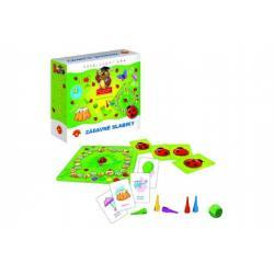 Zábavné slabiky vzdělávací společenská hra v krabici 19,5x18,5x5cm