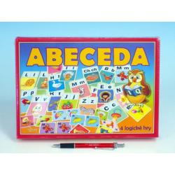 Abeceda společenská hra v krabici 28,5x20x3,5cm