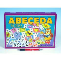 Abeceda slov společenská hra v krabici 28,5x20x3,5cm