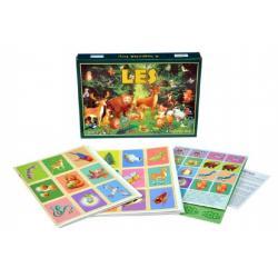 Les společenská hra v krabici 28,5x20x3,5cm