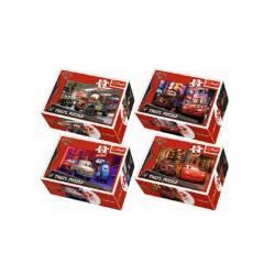 Minipuzzle Cars 2/Disney 54dílků asst 4 druhy v krabičce 9x6x3cm 40ks v boxu