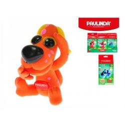 Tvořivá hmota/modelína Paulinda Funny dog 28g+8g s doplňky asst 6 druhů v krabici 12ks v boxu
