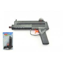 Vodní pistole plast 22cm na kartě