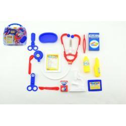Sada doktor/lékař 16ks plast v plastovém kufříku 30x27x7,5cm