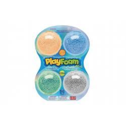 PlayFoam® Modelína/Plastelína kuličková 4 barvy na kartě 18x27x4cm