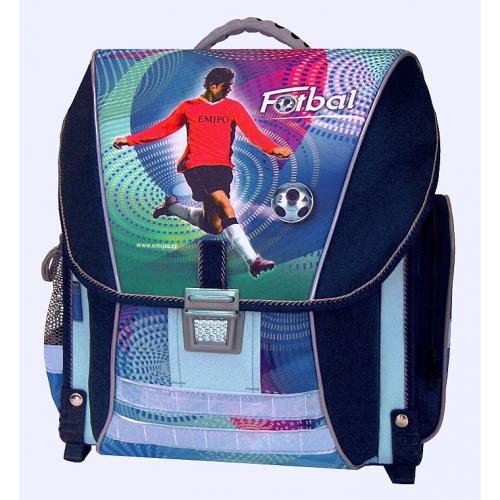 Školní batoh Emipo Fotbal - set
