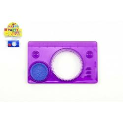 Inspiro mini plast 9x5,5cm asst 3 barvy v sáčku