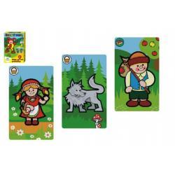 Černý Petr Moje první pohádky společenská hra - karty v plastové krabičce 6x9cm