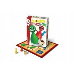 Člověče, nezlob se cestovní společenská hra dřevo v krabičce 10,5x15,5x3cm