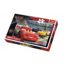Puzzle Auta/Cars 3 Disney 41x27,5cm 160 dílků v krabici 29x19x4cm