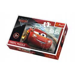 Puzzle Auta/Cars 3 Disney 27x20cm 30 dílků v krabičce 21x14x4cm