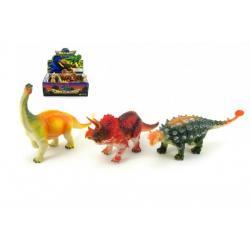 Dinosaurus plast 18cm asst 12ks v boxu