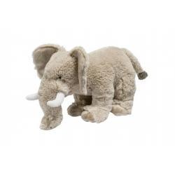 Slon stojící plyš  23cm