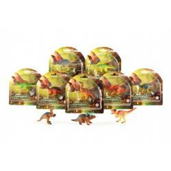Dinosaurus mini plast 8cm asst 6 druhů na kartě