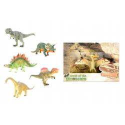 Dinosaurus plast 20cm asst 6 druhů v krabici