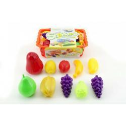 Nákupní košík ovoce/zelenina plast cca 10ks 22cm