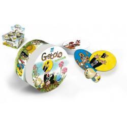 Grabolo Krtek společenská hra v plechové krabičce 9cm 8ks v boxu STRAGOO