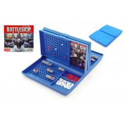 Námořní bitva plast společenská hra v krabici 29x26x4,5cm