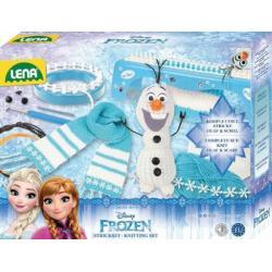 Sada pletení Frozen/Ledové království plast v krabici 35x27x7cm