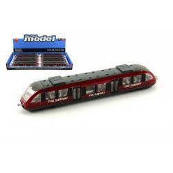 Metro vagón kov 17cm 12ks v boxu