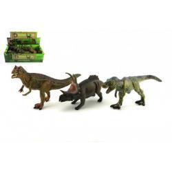 Dinosaurus plast 23cm asst 12ks v boxu