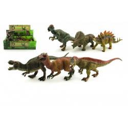 Dinosaurus plast 22cm asst 24ks v boxu