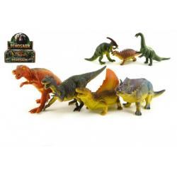 Dinosaurus plast 25cm asst 12ks v boxu