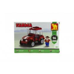 Stavebnice Dromader Farma 96ks v krabici 22x15x4,5cm