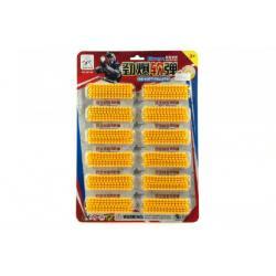 Kuličky měkké 6mm plast 12ks na kartě