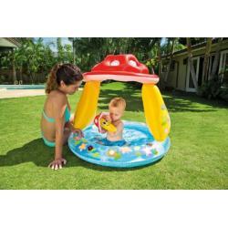 Bazén nafukovací baby muchomůrka 102x89cm od 1-3 let