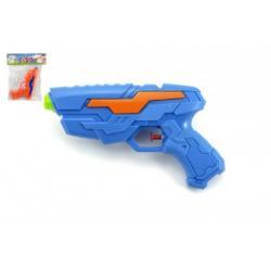Vodní pistole plast 20cm asst 2 barvy v sáčku