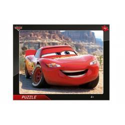 Puzzle deskové Cars Blesk McQueen 37x29cm 40 dílků