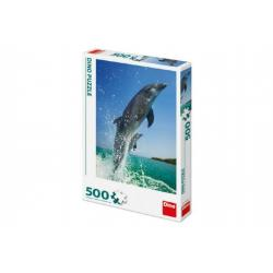 Puzzle Delfíni 33x47cm 500 dílků v krabici 23x33x3,5cm