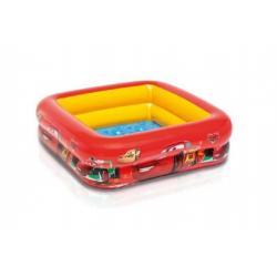 Bazén nafukovací dno Cars 85x85x23 cm od 1-3 let