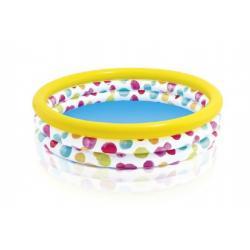 Bazén dětský duhový nafukovací 147x33cm 2+